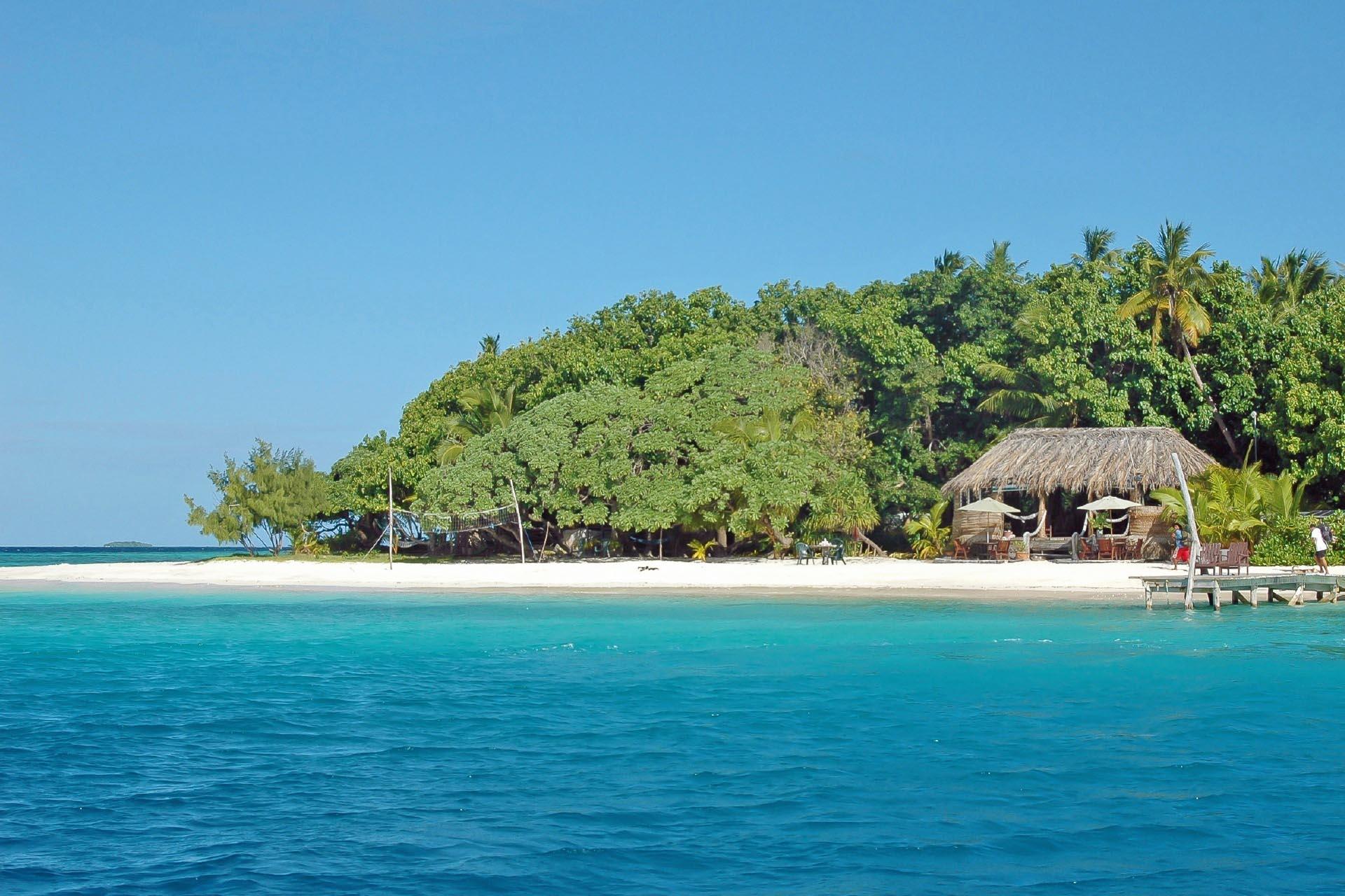 南の島の風景 トンガの風景