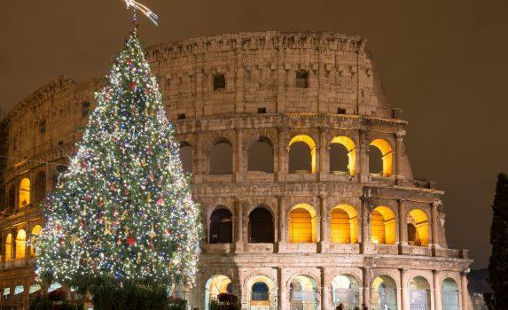 イタリアのクリスマス ローマ イタリアの風景