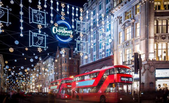 イギリスのクリスマス ロンドン イギリスの風景