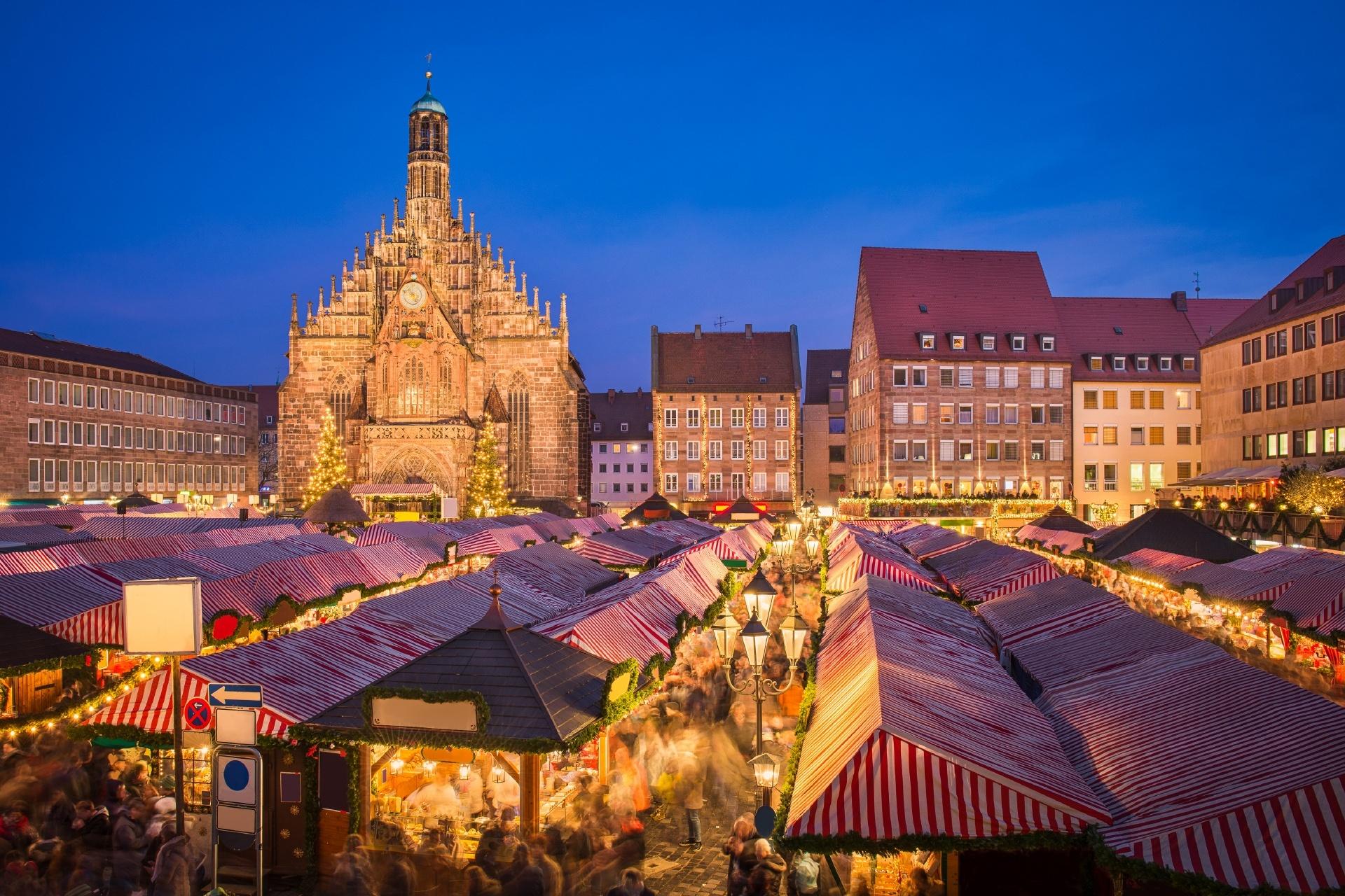 ドイツのクリスマス ニュルンベルク ドイツの風景
