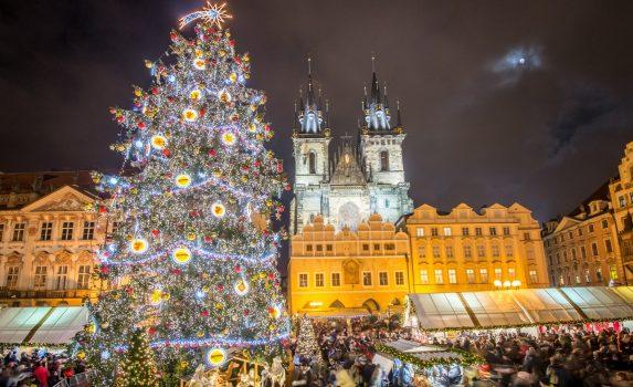 チェコのクリスマスの風景 チェコの風景