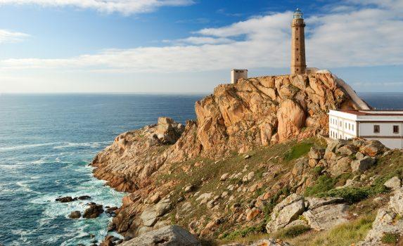 ガリシアの灯台 スペインの風景