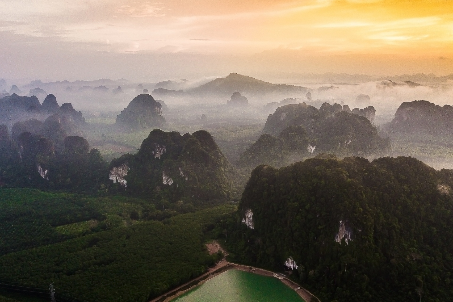 クラビの風景 タイの風景