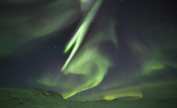 南極のオーロラ 南極の風景