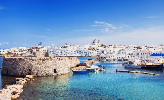 パロス島の風景 ギリシャの風景