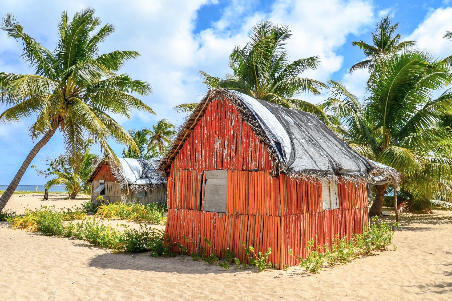 ウオールバ島の風景 トンガの風景