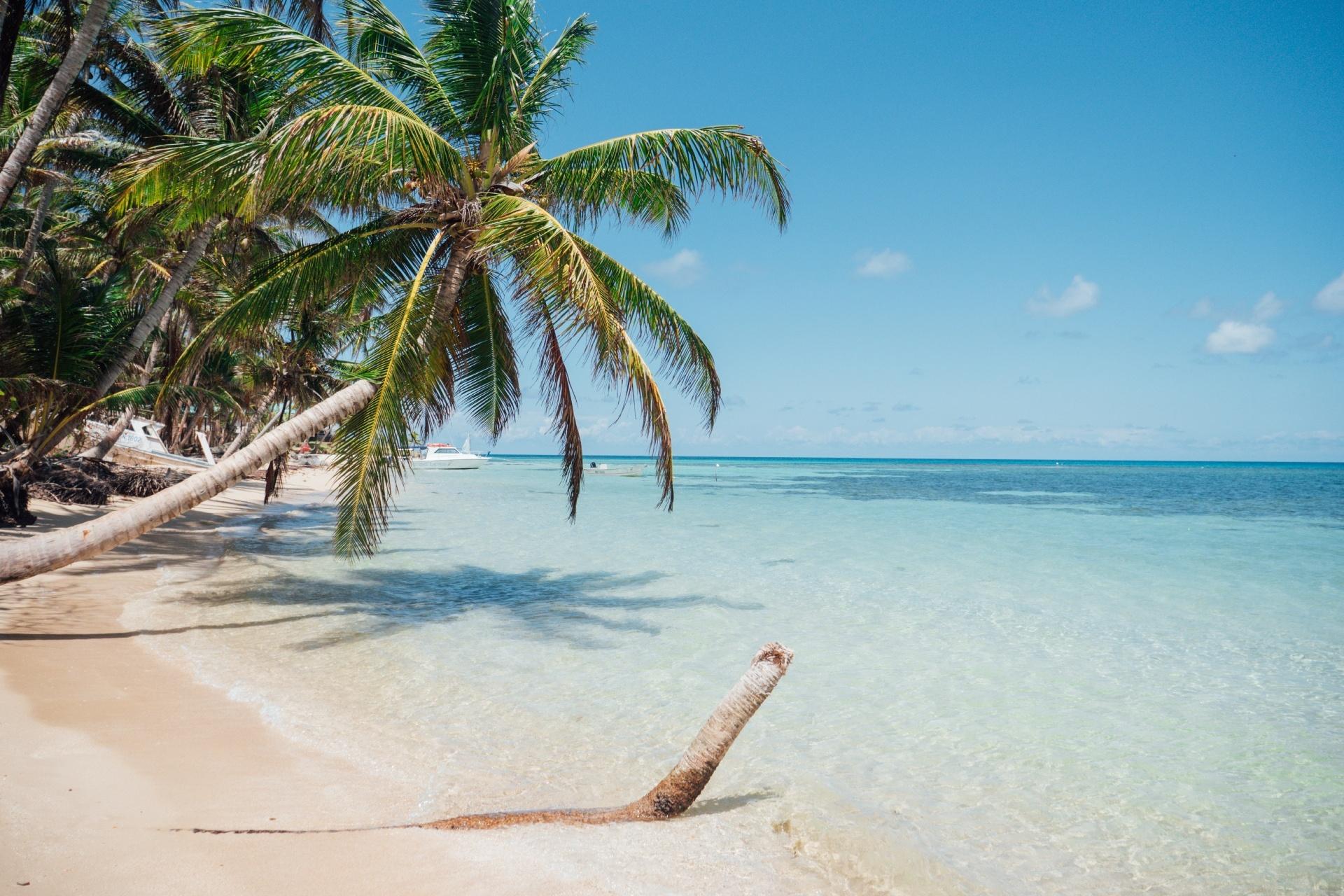 浜辺の風景 ニカラグアの風景