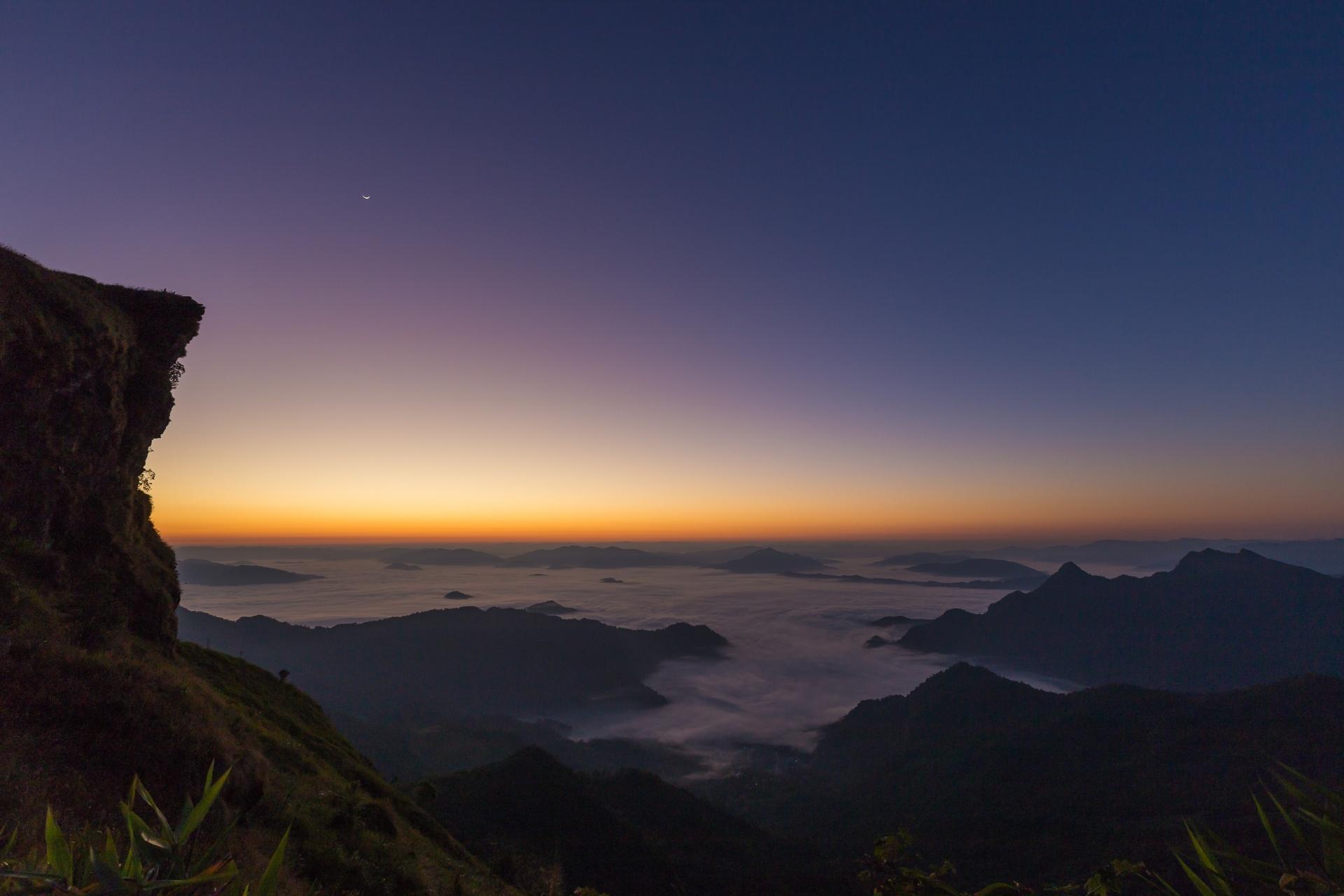 プーチーファーの風景 タイの風景