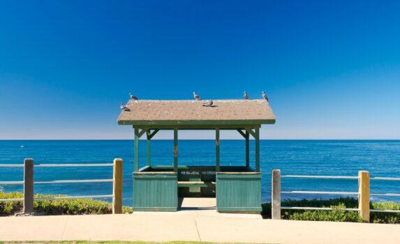 カリフォルニア州サンディエゴの海岸 アメリカの風景
