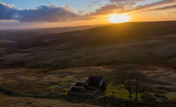 ハワースの風景 イギリスの風景