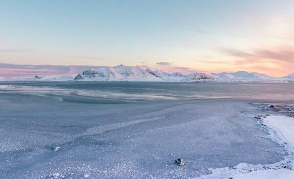 スピッツベルゲンの風景 ノルウェーの風景