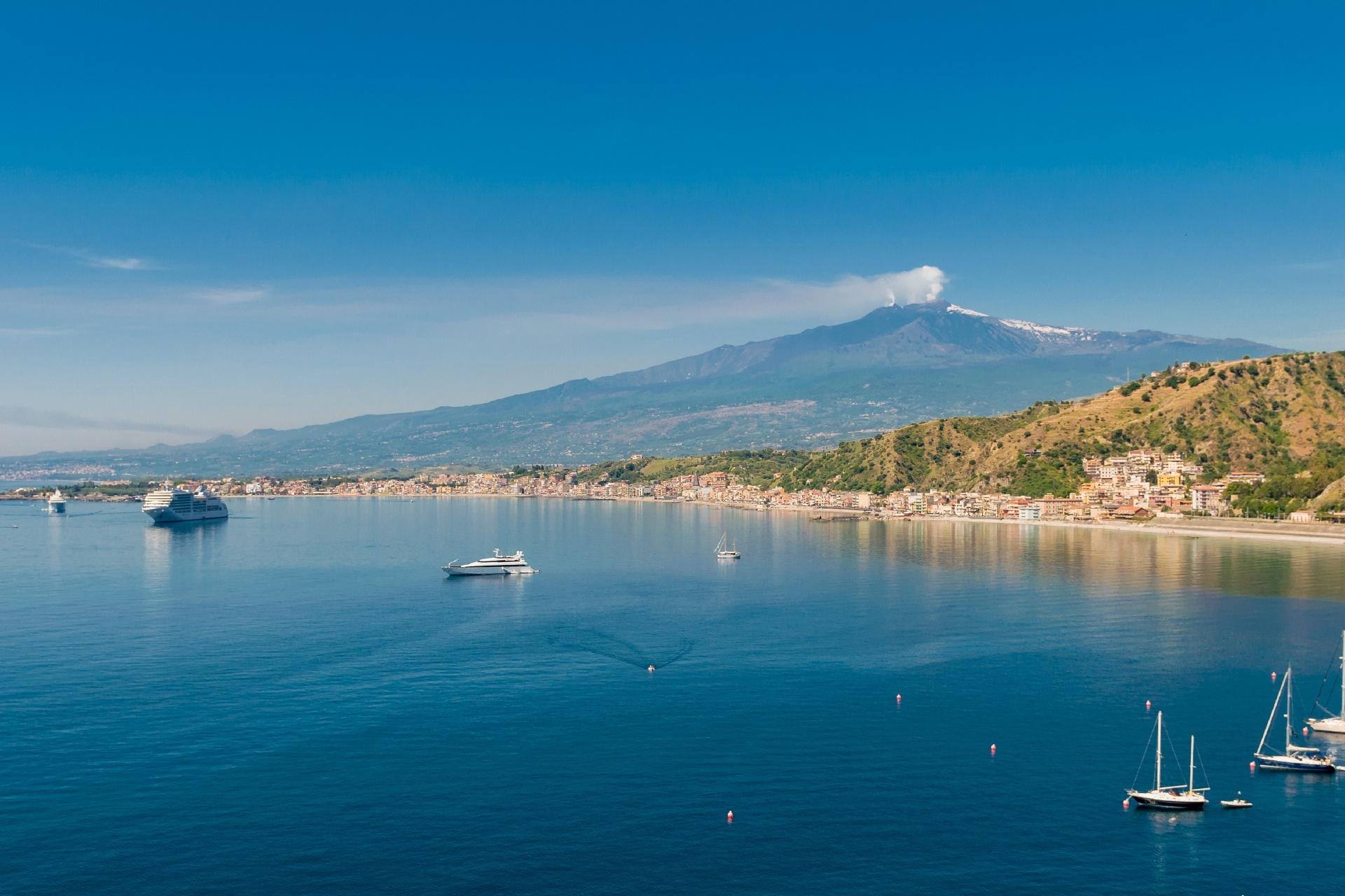シチリア島の風景 イタリアの風景