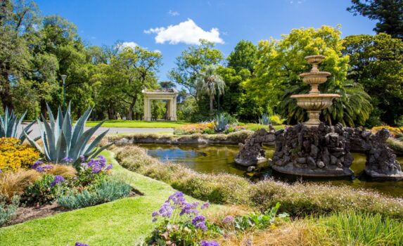 フィッツロイ・ガーデンズ オーストラリアの風景