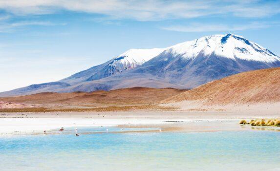 アルティプラーノの風景 ボリビアの風景