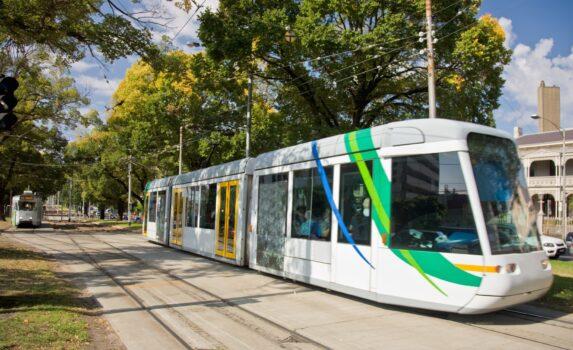 メルボルンの路面電車 オーストラリアの風景