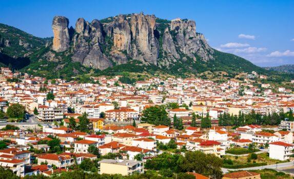 カランバカの風景 ギリシャの風景