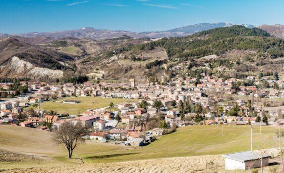 サンタンジェロ・イン・ヴァードの風景 イタリアの風景