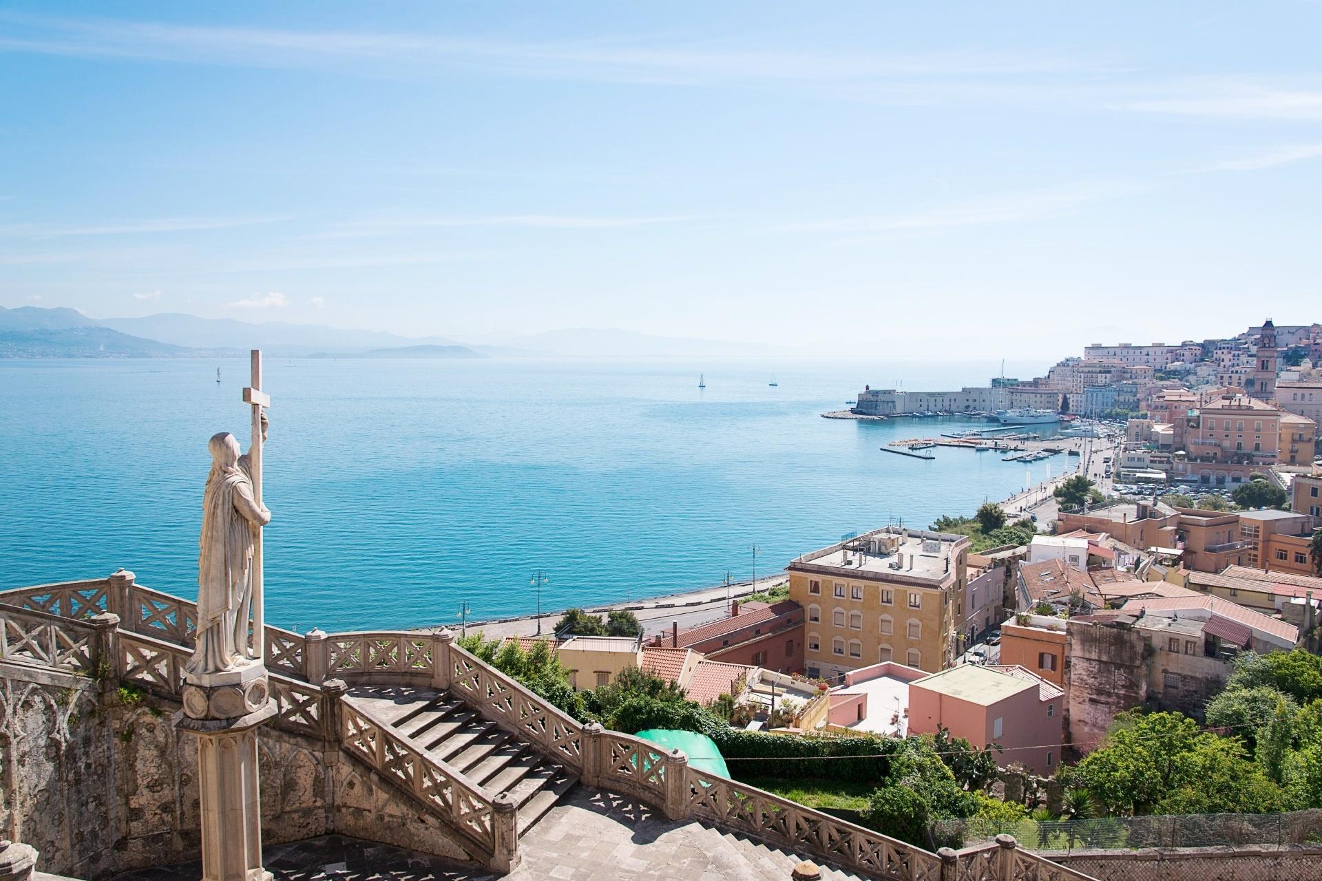 ガエタの風景 イタリアの風景