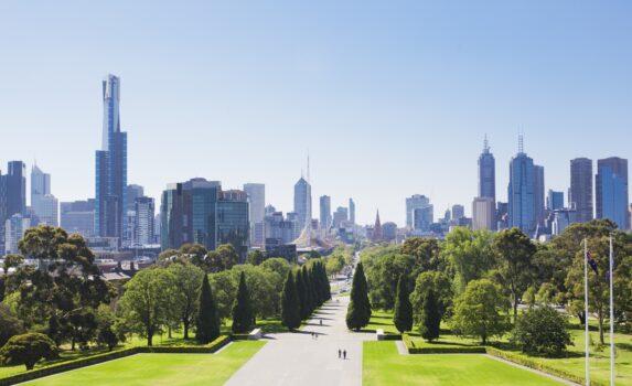メルボルンの風景 オーストラリアの風景