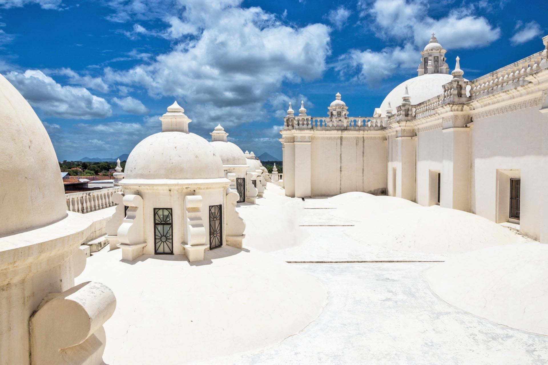 レオン大聖堂 ニカラグアの風景