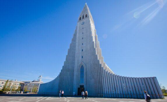 ハットルグリムス教会 アイスランドの風景