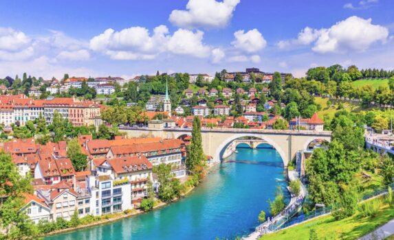 ベルン旧市街 スイスの風景