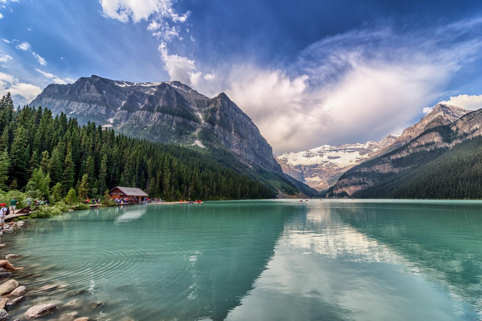 ルイーズ湖 カナダの風景