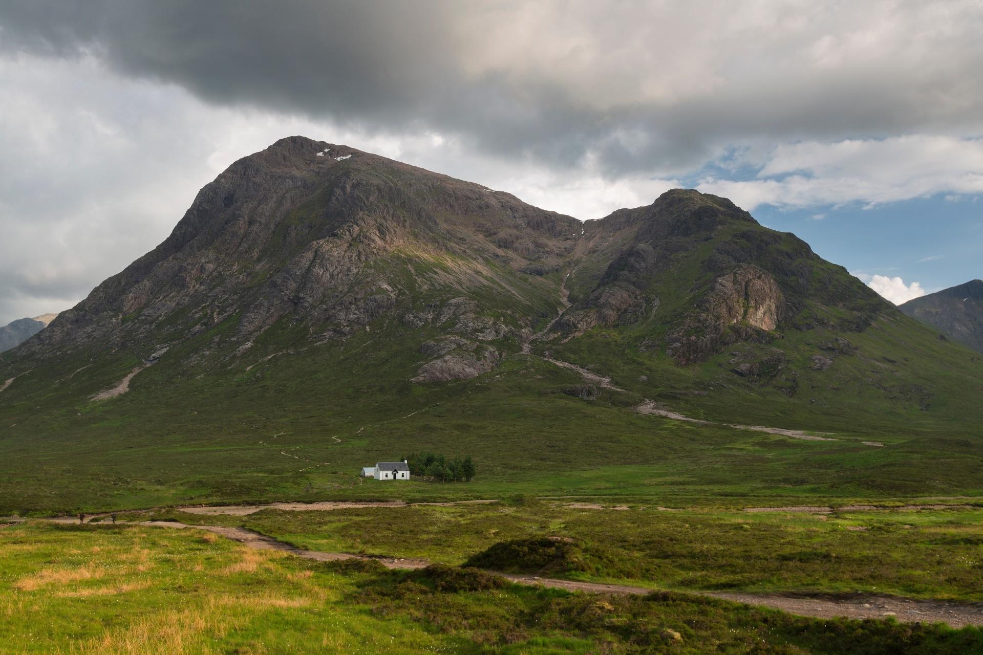 ハイランド地方の風景 スコットランドの風景