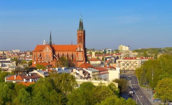 ビャウィストクの風景 ポーランドの風景