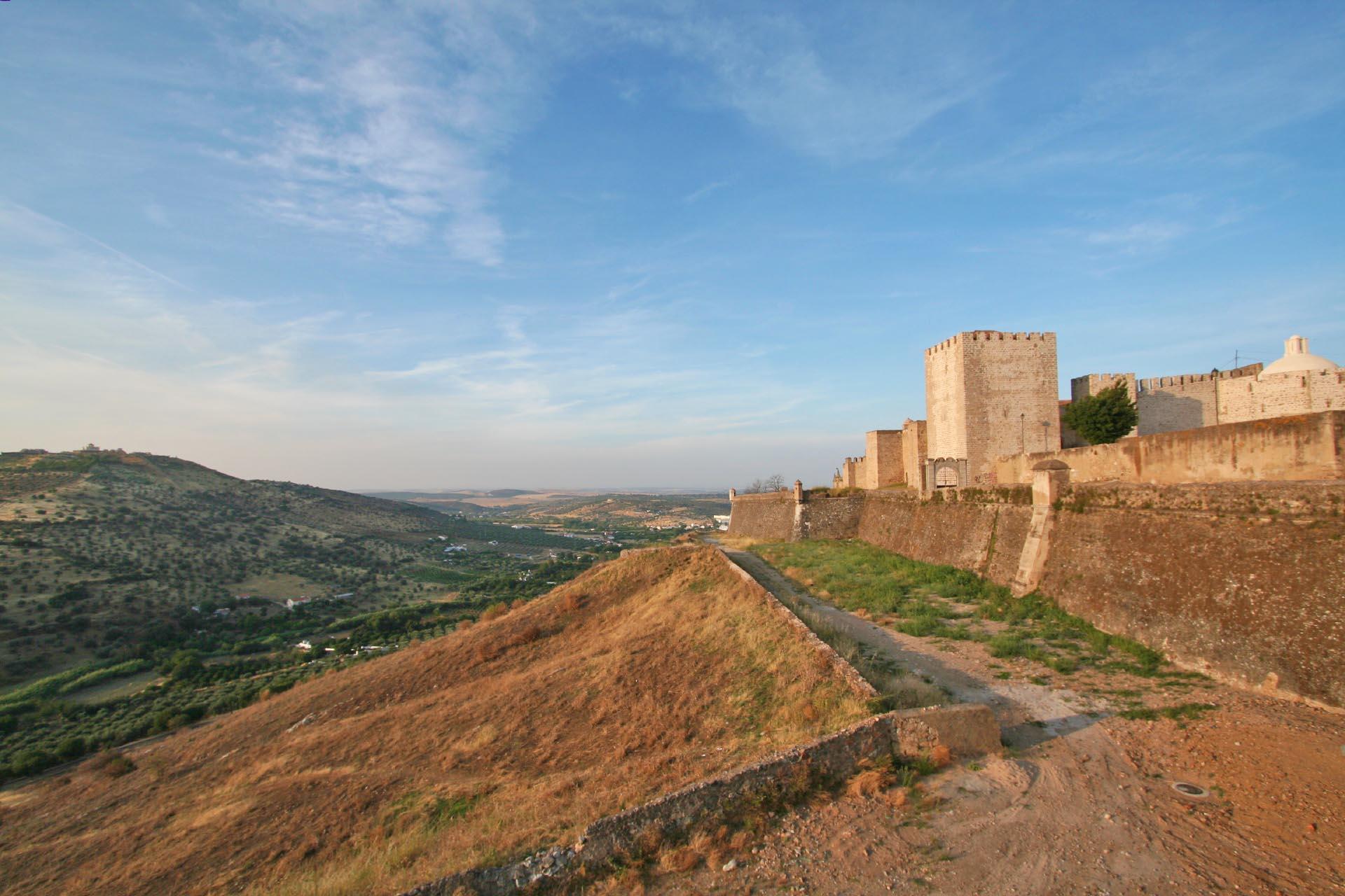 エルヴァスの風景 ポルトガルの風景