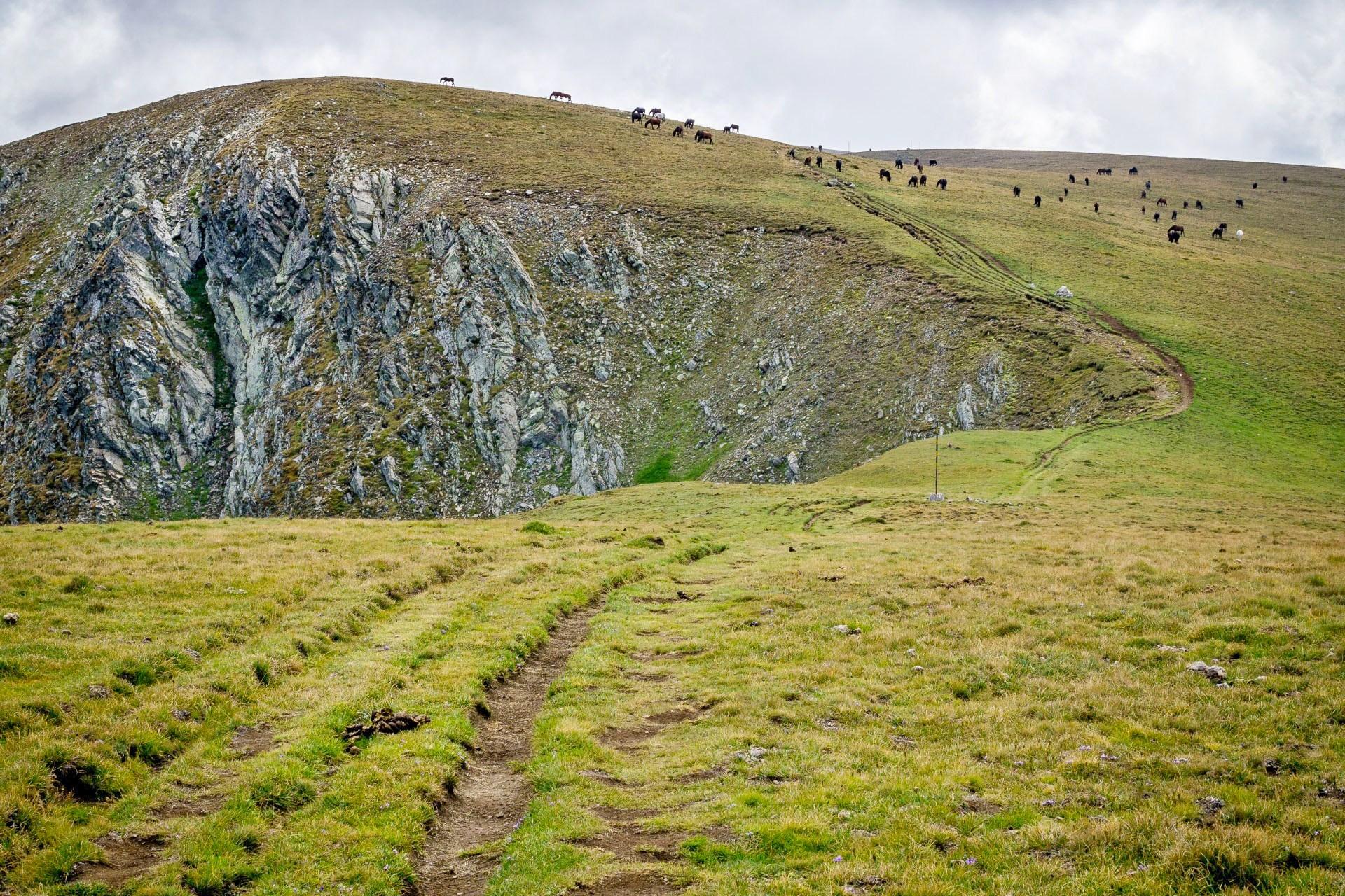 リラ山脈の風景 ブルガリアの風景