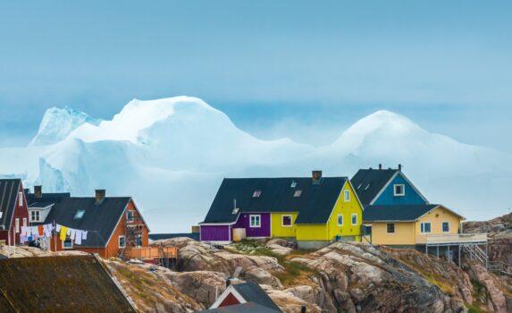 イルリサット グリーンランドの風景