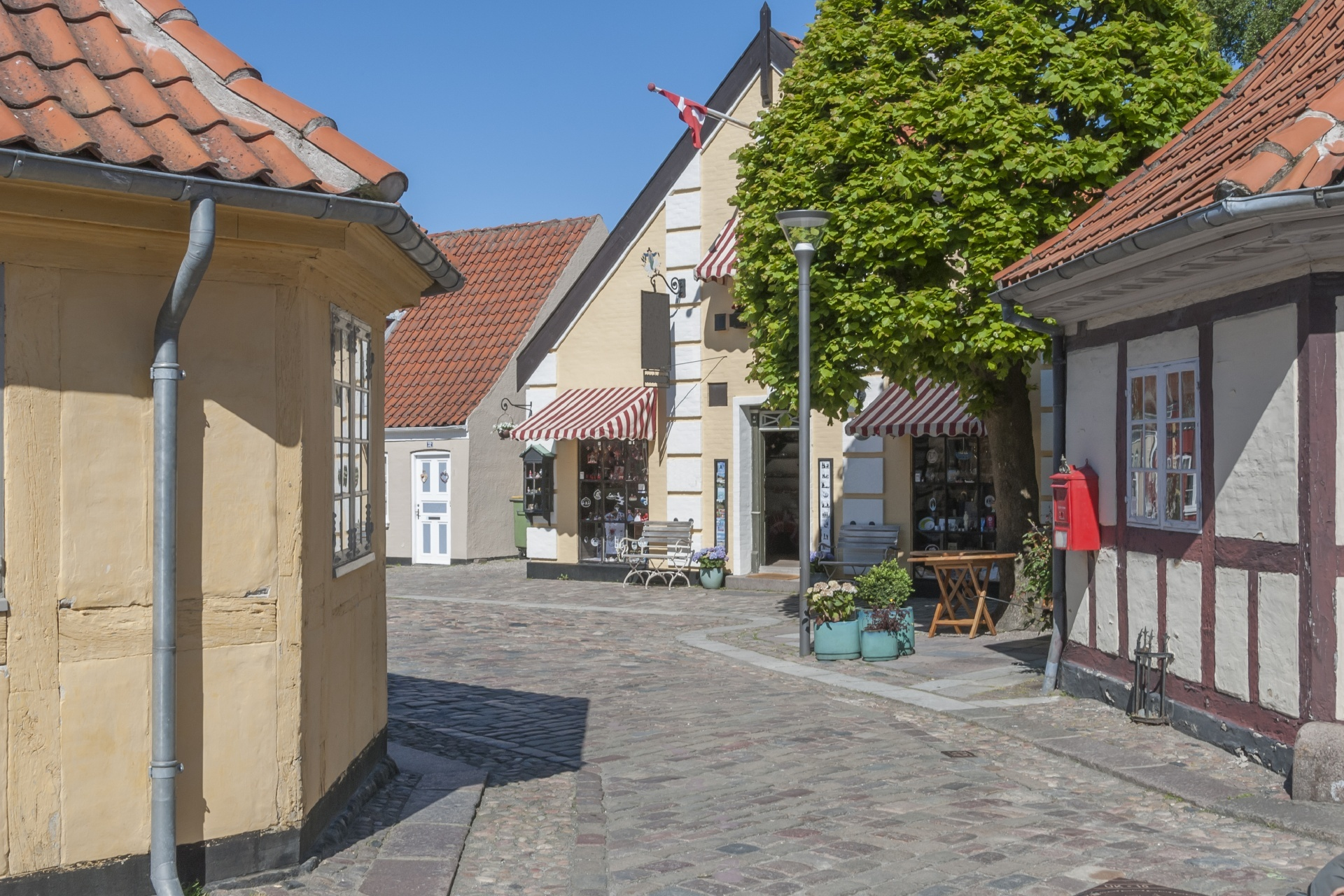 オーデンセの風景 デンマークの風景