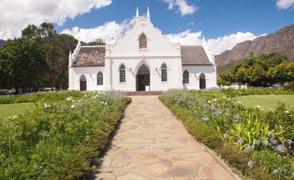 フランシュホーク 南アフリカの風景