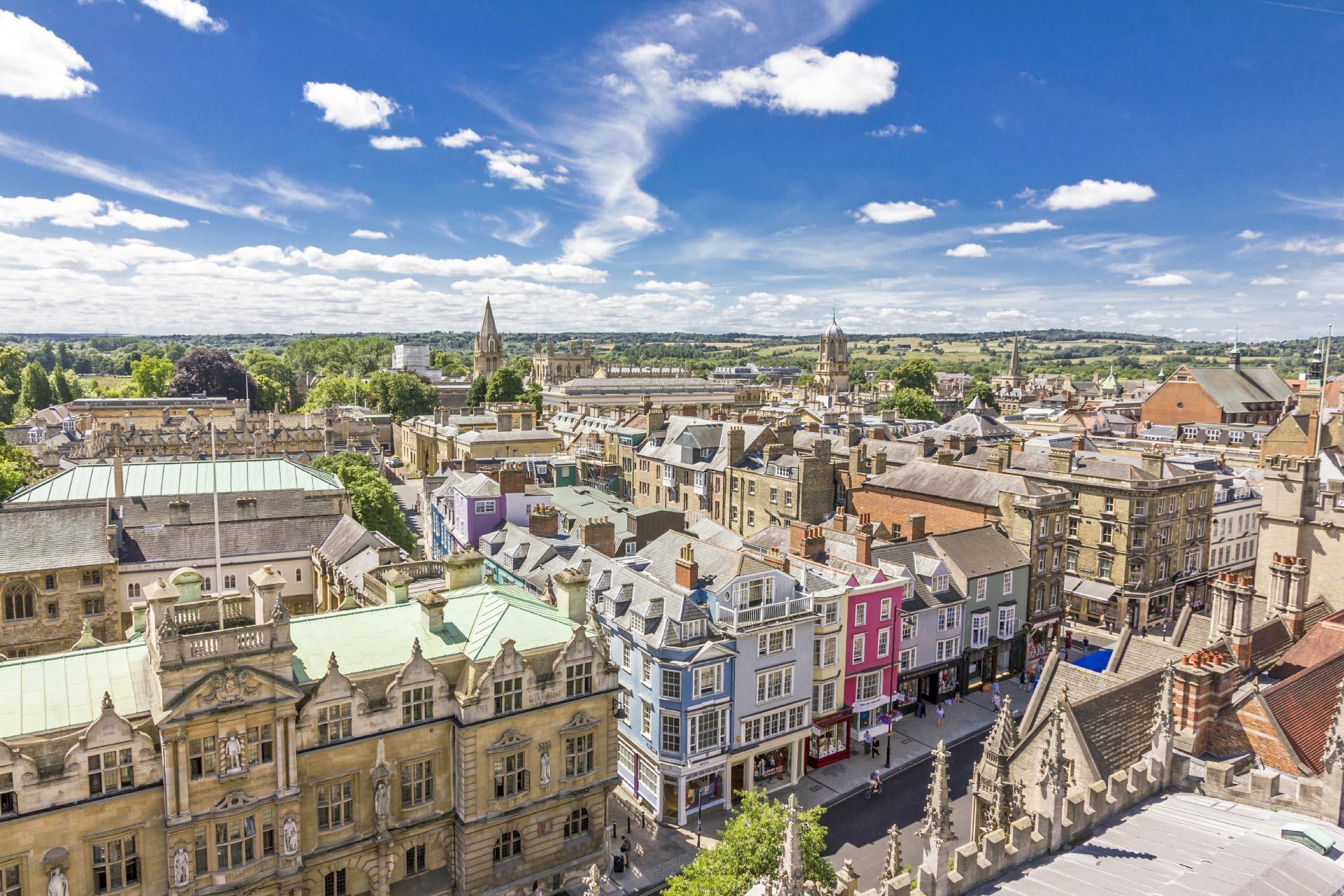 オックスフォードの町並み イギリスの風景