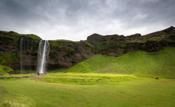 セリャラントスフォス アイスランドの風景
