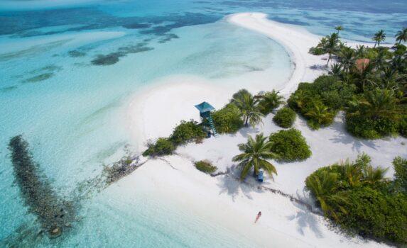 マレ環礁の風景 モルディブの風景