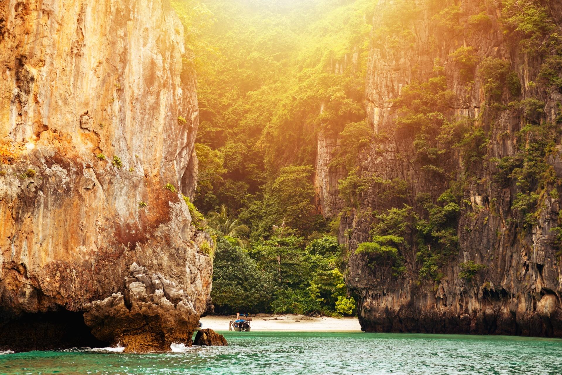 離島の風景 タイの風景
