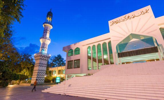 マレのモスク モルディブの風景